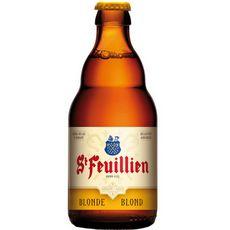 ST FEUILLIEN Bière blonde 7,5% bouteille 33cl