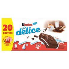 KINDER Délice cacao 20 gâteaux 780g