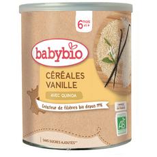 BABYBIO Céréales vanille avec quinoa bio en poudre dès 6 mois 220g