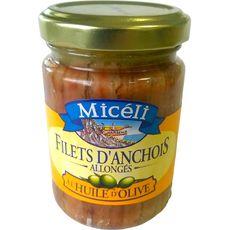 MICELI Filets d'anchois à l'huile d'olive 150g