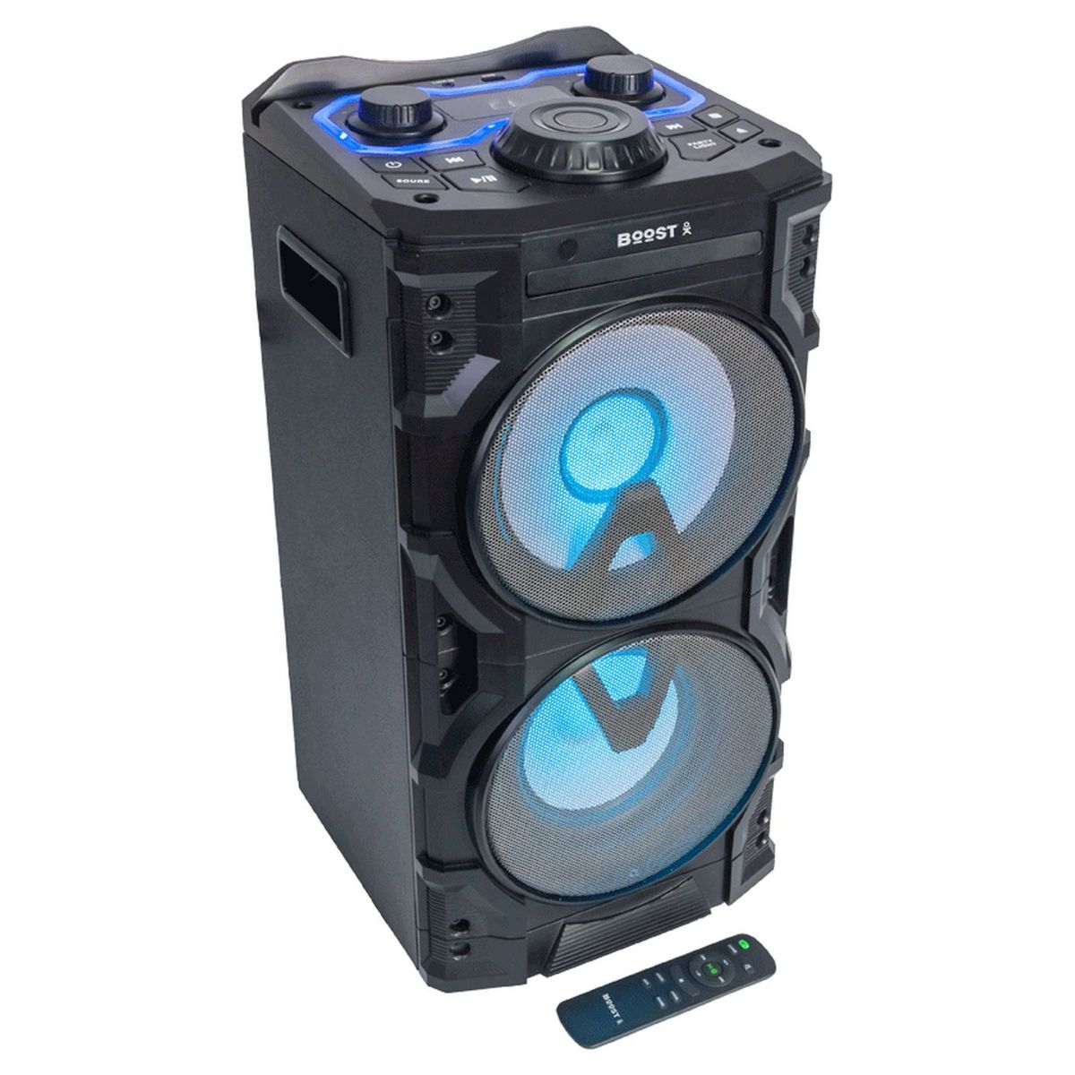 Enceinte active 2 voies Bluetooth Powersound300CD-SD - Noir