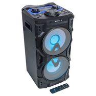BOOST Enceinte active 2 voies Bluetooth Powersound300CD-SD - Noir