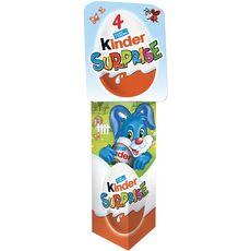 KINDER Surprise Spécial décoration Pâques  4 œufs 80g