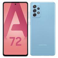 SAMSUNG Smartphone Galaxy A72  4G  128 Go  6.7 pouces Bleu Double NanoSim
