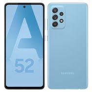 SAMSUNG Smartphone Galaxy A52  4G  128 Go  6.5 pouces Bleu Double NanoSim