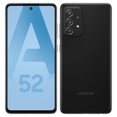 SAMSUNG Smartphone Galaxy A52  4G  128 Go  6.5 pouces Noir Double NanoSim