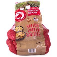 AUCHAN Pommes de terre rouges salade vapeur sautées filière responsable 2,5kg