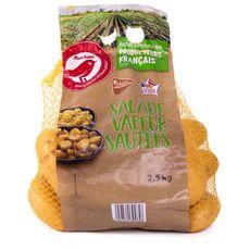 AUCHAN Pommes de terre de consommation salade vapeur sautées filière responsable 2,5kg