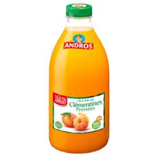 ANDROS Pur jus de clémentines pressées vitamines C 1l +15% offert
