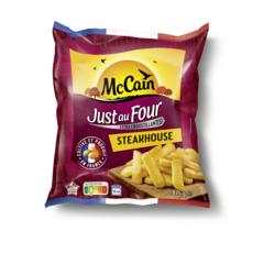MC CAIN Just au four - Steakhouse - Frites croustillantes 875g
