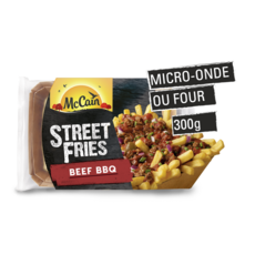 MC CAIN Street Fries Frites bœuf sauce barbecue 300g