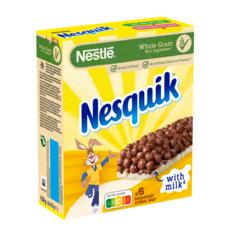 NESQUIK Barres de céréales au chocolat 6 barres 150g