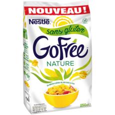 NESTLE GOFREE Pétales de maïs chocolat sans gluten 250g
