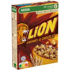LION Céréales au caramel et chocolat 400g