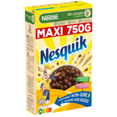 NESQUIK Céréales au chocolat 750g
