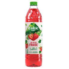 VOLVIC Eau aromatisée Juicy au jus de fraise 1,5l