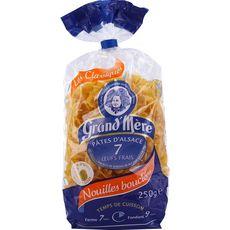 GRAND'MERE Pâtes d'Alsace nouilles bouclées 250g
