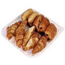 5 croissants + 5 pains chocolat au beurre 10 pièces