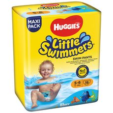HUGGIES Little swimmers maillots de bain jetables taille 5-6 (12-18kg) 19 culottes