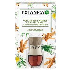 AIR WICK Botanica désodorisant spray vétiver des Caraïbes & bois de santal 19ml