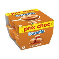 DANETTE Crème dessert au caramel 8x125g