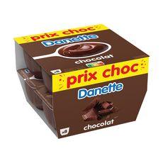 DANETTE Crème dessert au chocolat 8x125g