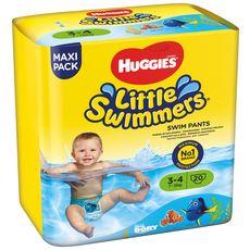 HUGGIES Little swimmers maillots de bain jetables taille 3 et 4 (7-15kg) 20 culottes