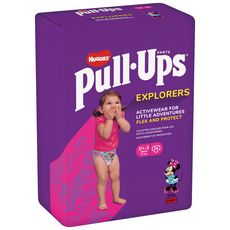 HUGGIES Pull ups couches-culottes absorbantes fille 1,5-3ans 34 couches-culottes