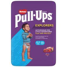 HUGGIES Pull ups couches-culottes absorbantes garçon de 1,5 à 3 ans 34 couches-culottes