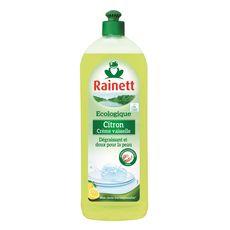 RAINETT Liquide vaisselle écologique dégraissant au citron 750ml
