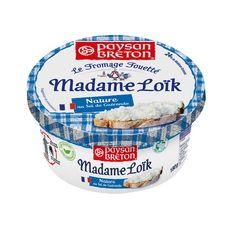MADAME LOIK Fromage fouetté frais nature et sel de Guérande 180g