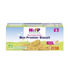 HIPP Mon goûter plaisir mon premier biscuit dès 6 mois 180g