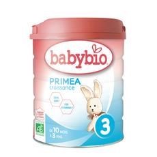 BABYBIO Primea 3 lait de croissance en poudre dès 10 mois 800g