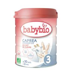 BABYBIO Caprea 3 lait de croissance au chèvre en poudre dès 10 mois 800g
