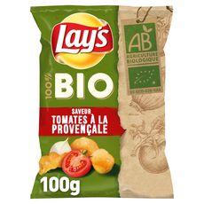 LAY'S Chips bio tomates à la provençale 100g