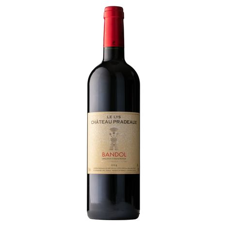 SANS MARQUE AOP Bandol Le Lys Château Pradeaux 2015 rouge