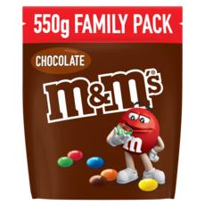 M&M'S Bonbons chocolatés family pack 550g