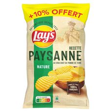 LAY'S Chips paysannes nature 300g + 10% offert