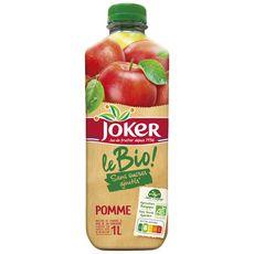 Joker JOKER Nectar le bio pomme sans sucres ajoutés