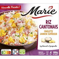 MARIE Riz à la cantonaise 4 portions 900g