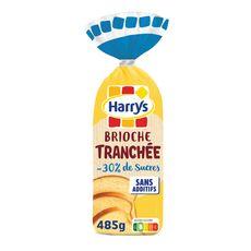 HARRYS Brioche tranchée sans additifs moins 30% de sucre 485g