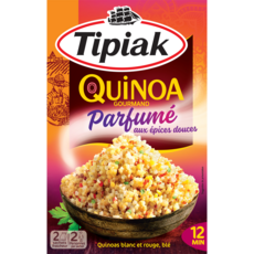 TIPIAK Quinoa gourmand parfumé aux épices douces 2 portions par sachet 240g