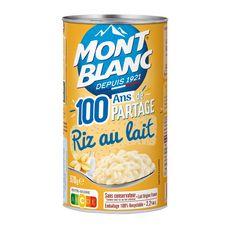 MONT BLANC Riz au lait aromatisé vanille 70g