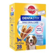 PEDIGREE Dentastix friandises hygiène dentaire pour moyen chien 28 pièces