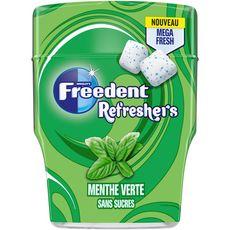 Freedent FREEDENT Refreshers Chewing-gum sans sucres menthe verte