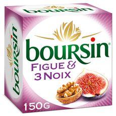 BOURSIN Fromage à tartiner aux figues et 3 noix 150g