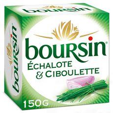 Boursin BOURSIN Fromage à tartiner à l'échalote et aux fines herbes