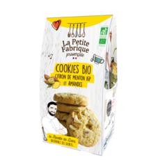 LA PETITE FABRIQUE PROVENCALE Cookies bio au citron de menton igp et amandes  120g