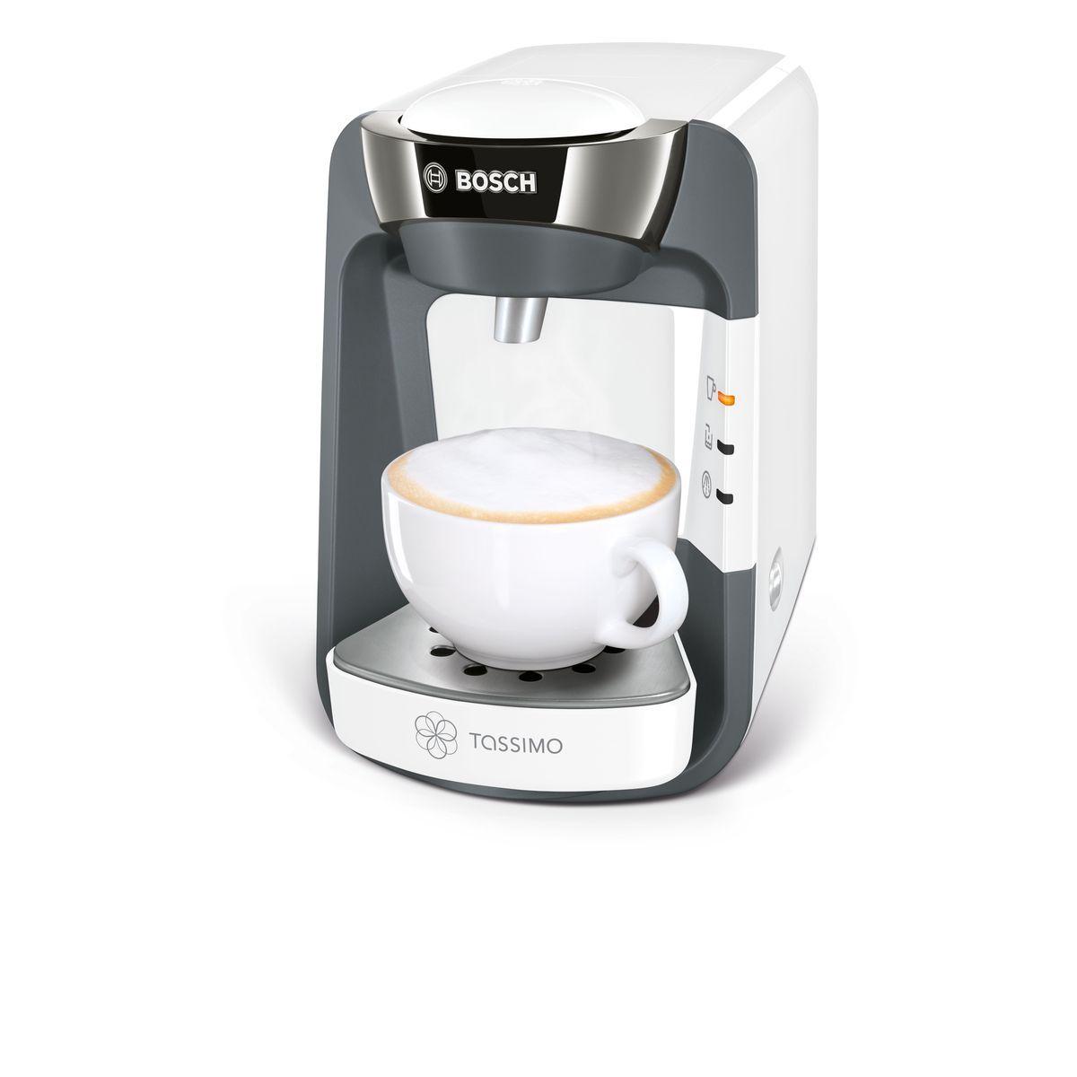 Cafetière à dosette Tassimo TAS3204 - Blanc