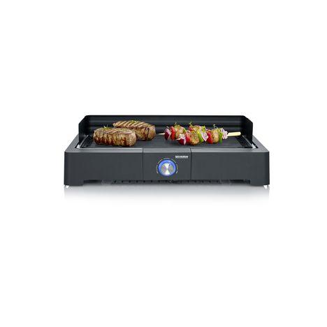SEVERIN Barbecue électrique de table PG8562 - Noir